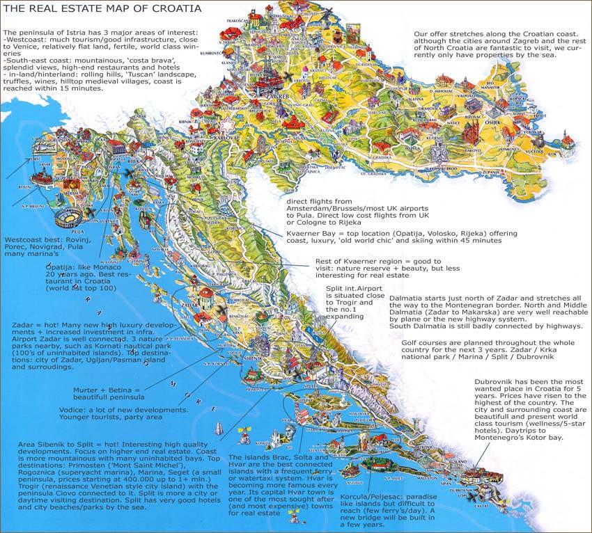 Middelland Croatia Sea view and sea side property specialist